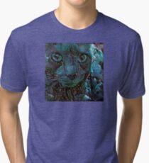 Fishtank Freakout! (Electric Catnip) Tri-blend T-Shirt