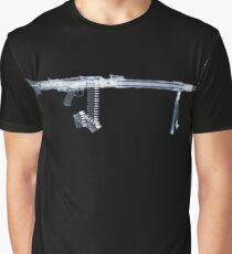 X-Ray WWII MG42  Graphic T-Shirt