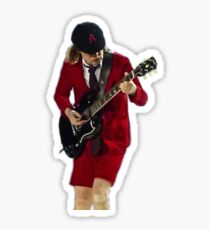 angus young 2 Sticker
