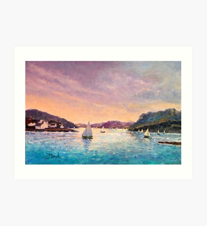 Regatta Plockton, Scotland Art Print