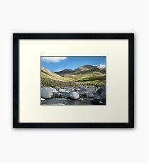 singing hills Framed Print