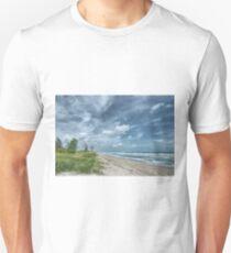 Blustery Coast Unisex T-Shirt