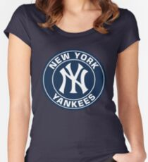 new york  Women's Fitted Scoop T-Shirt