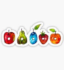 The Very Hungry Caterpillar Fruit Sticker