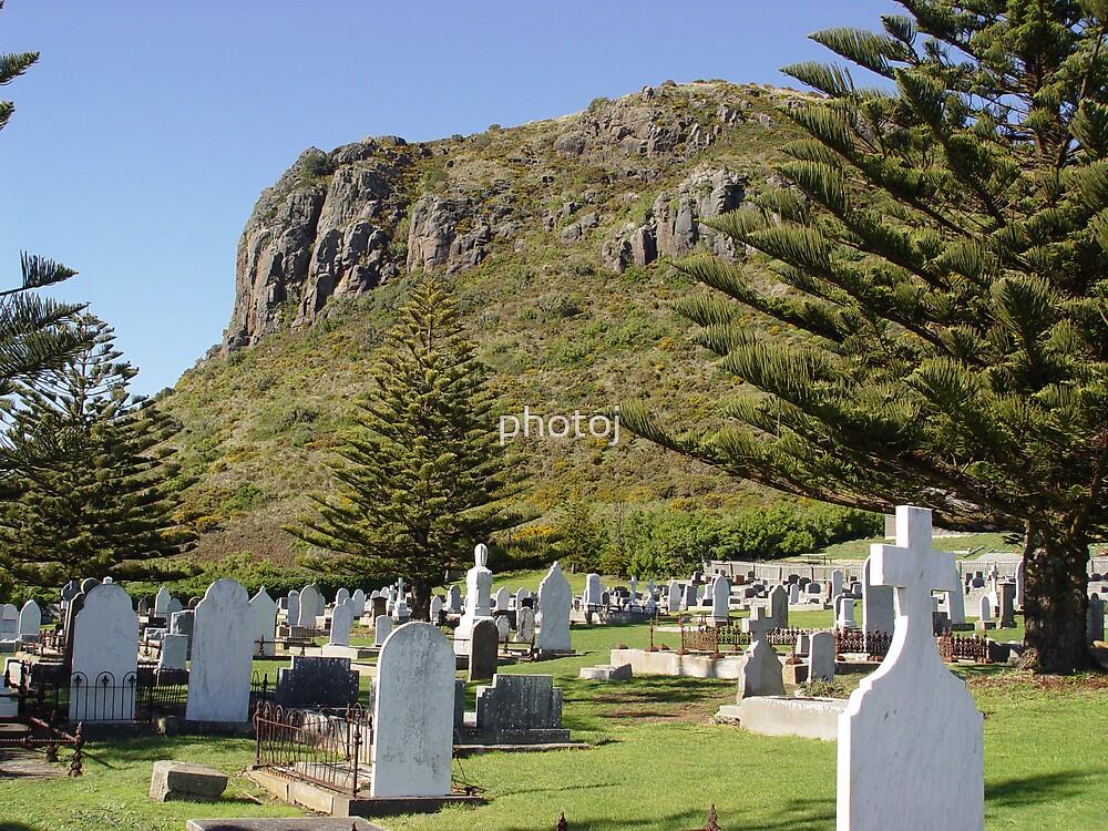 Australia - Tasmania, Stanley Nut and Grave-yard by photoj