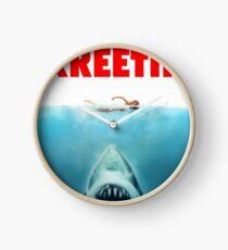 Jaws Clock