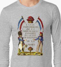 French Revolution Poster Long Sleeve T-Shirt