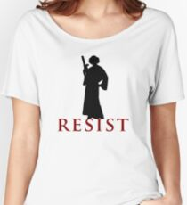 Star Wars Leia: Resist Color Women's Relaxed Fit T-Shirt