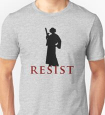 Star Wars Leia: Resist Color Unisex T-Shirt