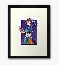 Chun-Li Framed Print