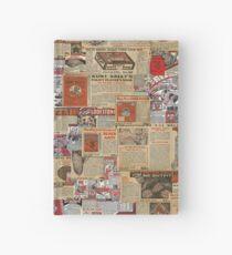 Alte Hoodoo-Anzeigen Notizbuch
