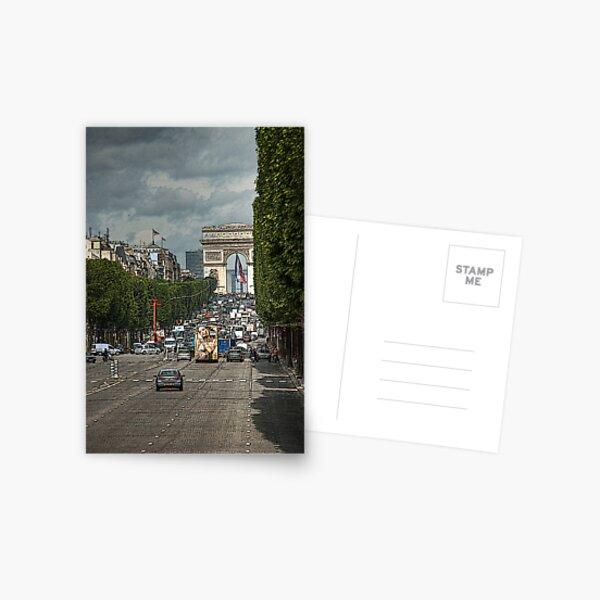 Champs de Ellesse Postcard