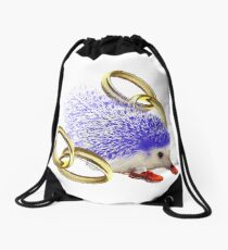 GOTTA GO FAST!! With Rings Version Drawstring Bag