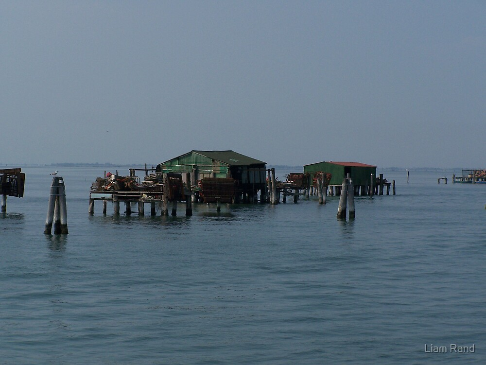 Fishing Huts by Liam Rand