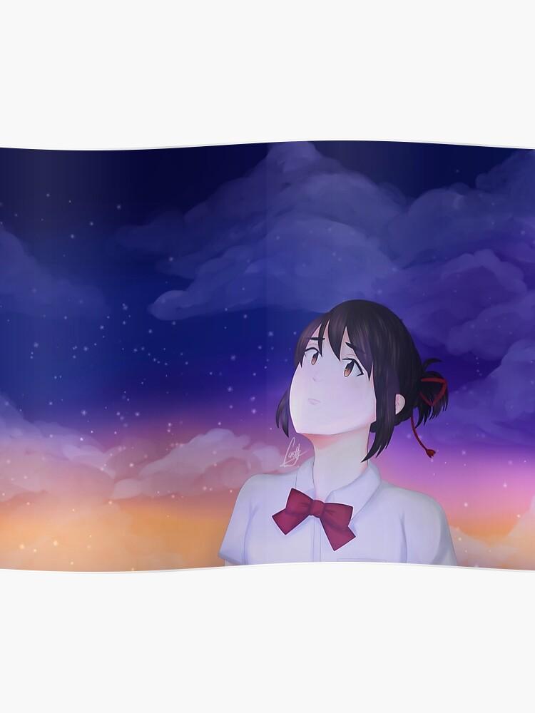 Kimi No Na Wa Mitsuha Poster
