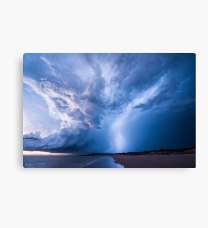 Bolt from the Blue Canvas Print