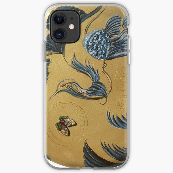 Peacock Feathers iPhone Soft Case