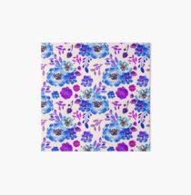 Fleurs Violettes eau Art Board