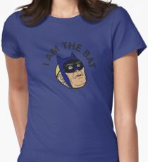 I AM THE BAT Womens Fitted T-Shirt