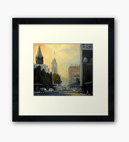 Railway Square, Sydney  Framed Print