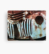 Rusty Details Canvas Print
