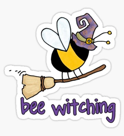 Bee witching Sticker