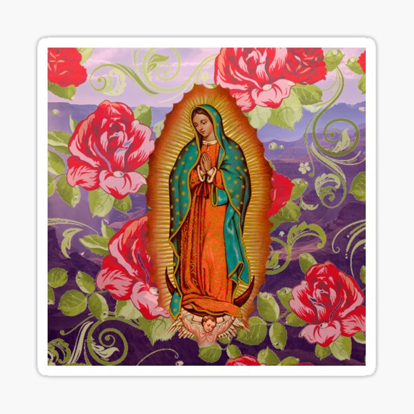 La Virgen Guadalupe Sticker