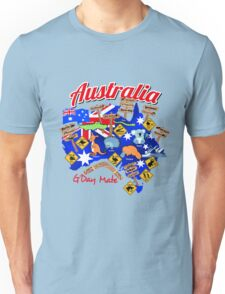 Australian animals and locations Unisex T-Shirt