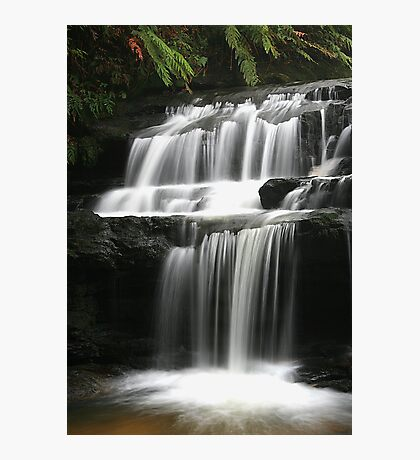 Leura Cascades - Serenity, Blue Mountains, NSW Photographic Print