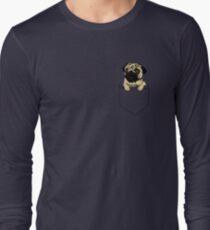 Pocket Pug Long Sleeve T-Shirt