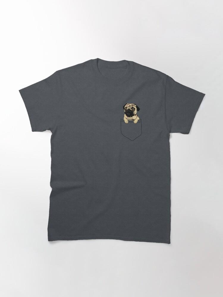 Alternate view of Pocket Pug Classic T-Shirt