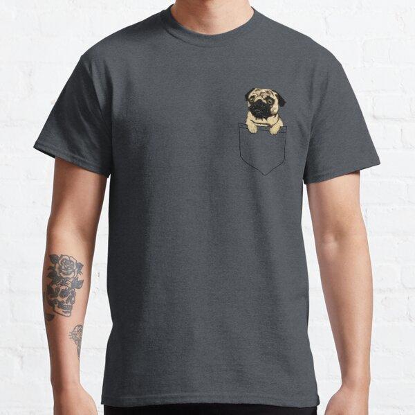 Pug de bolsillo Camiseta clásica