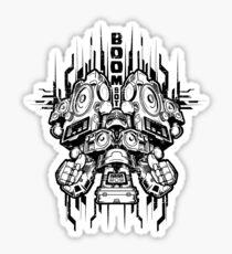 Boom Bot Sticker