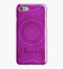 Namaste Mandala Yoga Hindi Symbol iPhone Case/Skin