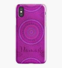 Namaste Mandala Yoga Hindi Symbol iPhone Case/Skin