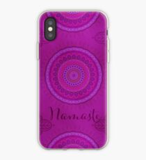 Namaste Mandala Yoga Hindi Symbol iPhone Case