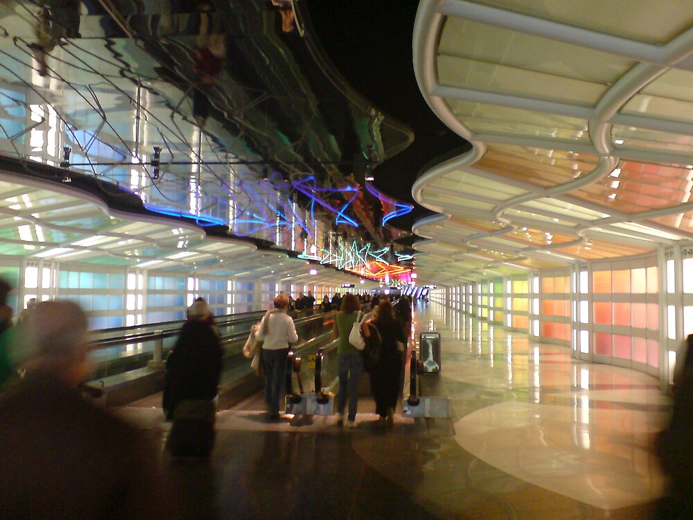 Chicago O'Hare Airport by diongillard