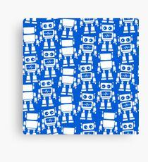 Little robots Canvas Print