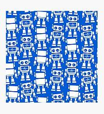 Little robots Photographic Print