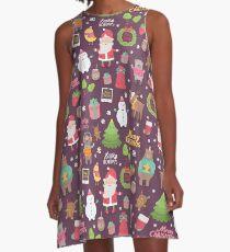 Merry Christmas A-Line Dress
