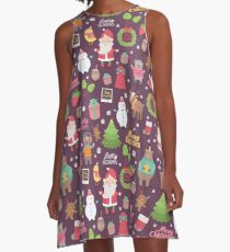Merry Christmas A-Line Dress