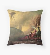 The fall of London Throw Pillow
