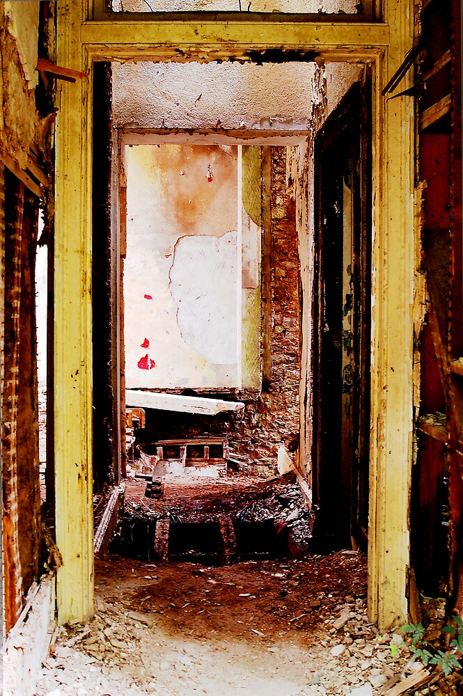 Doorway to decay by Kate Eling