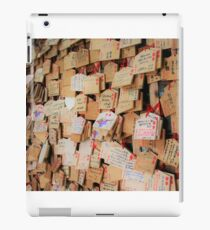 Put Your Wish on the Wall iPad Case/Skin
