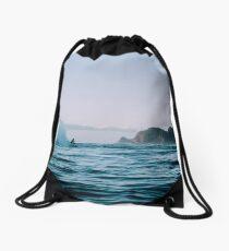 Surfing Drawstring Bag