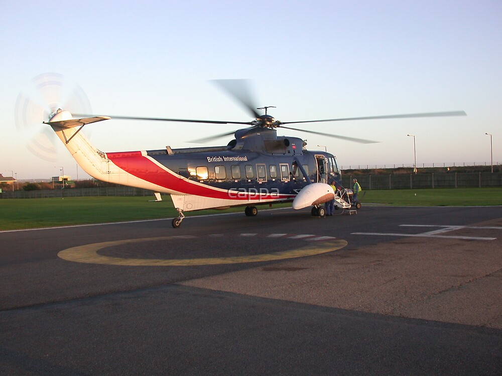 Sikorsky s61 helicopter by cappa