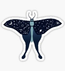 Luna Moth Sticker