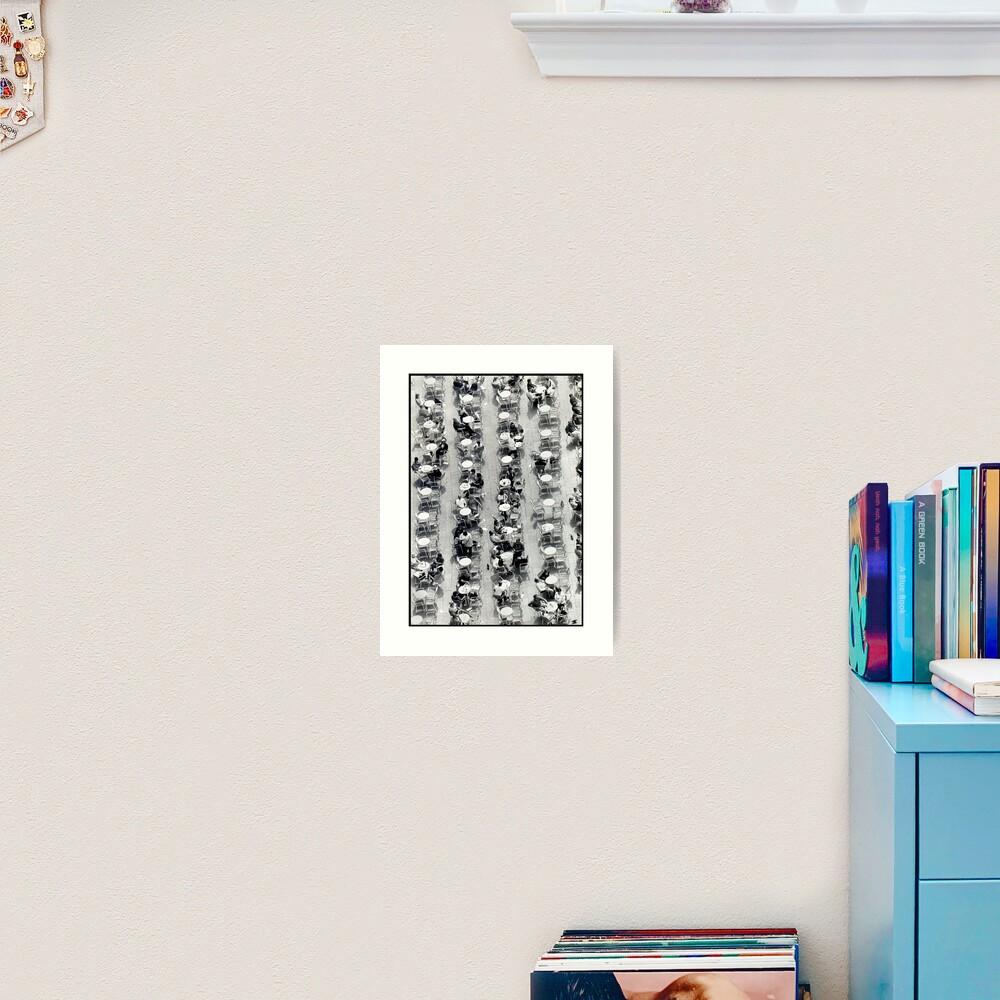 Coffee Drops Art Print