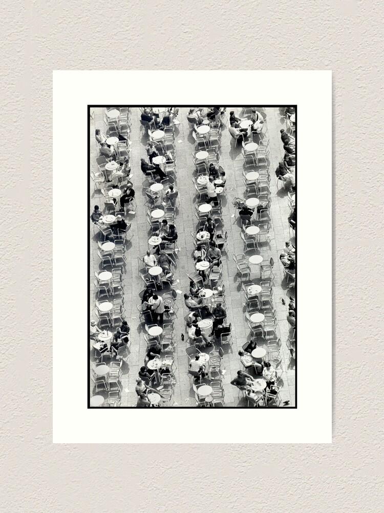 Alternate view of Coffee Drops Art Print