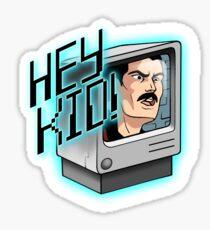 HEY KID! I'M A COMPUTER! Sticker